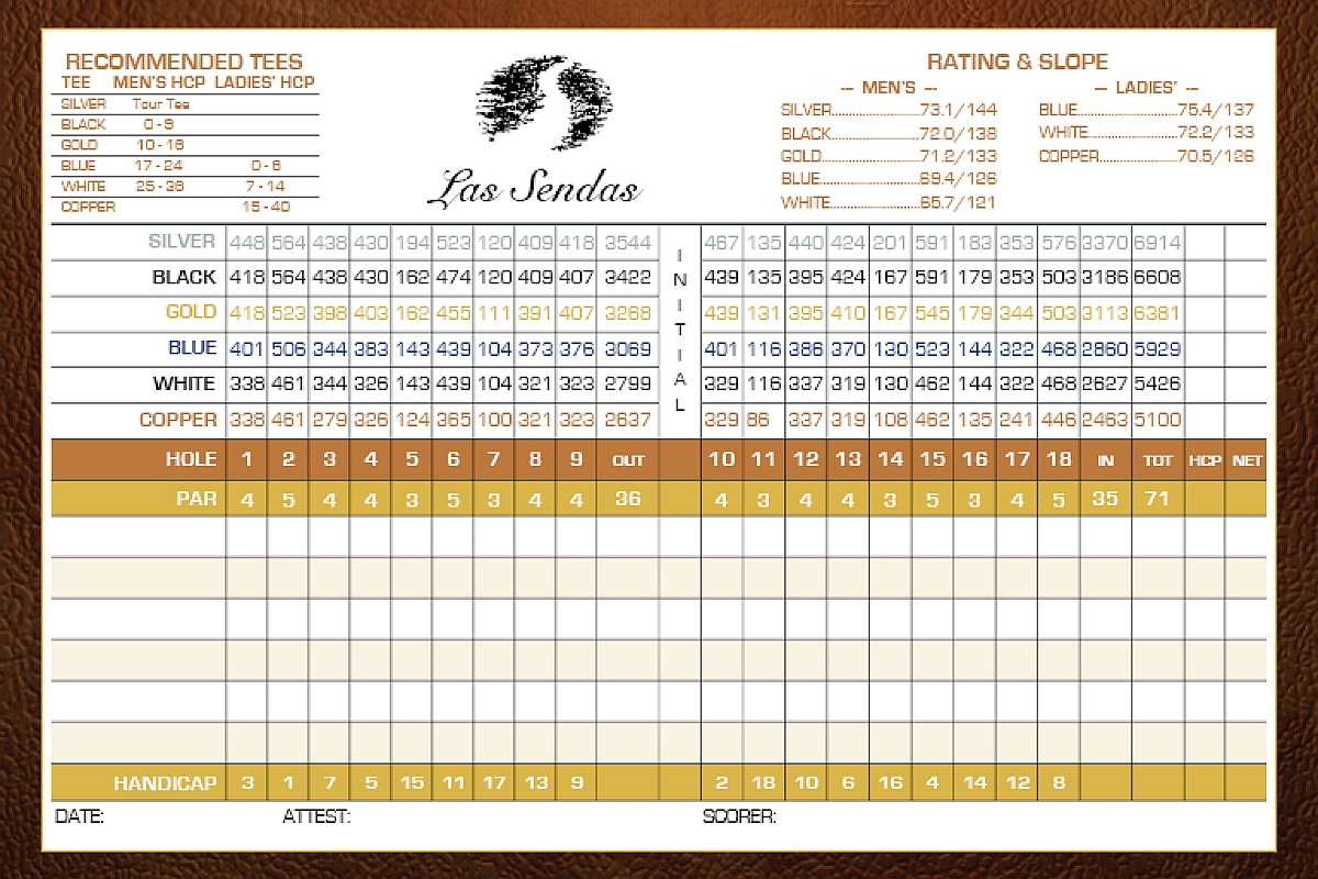 Las Sendas Online Las Sendas Golf Club